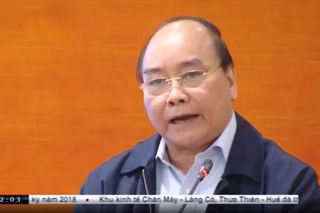 Thủ tướng Nguyễn Xuân Phúc kêu gọi chống dịch, cứu lợn