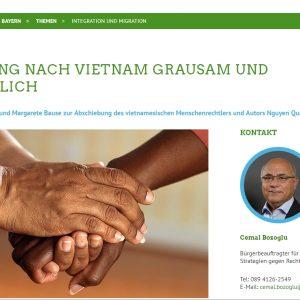 Xã hội dân sự và đảng phái đối lập làm xoay chiều vụ trục xuất nhà hoạt động nhân quyền Nguyễn Quang Hồng Nhân