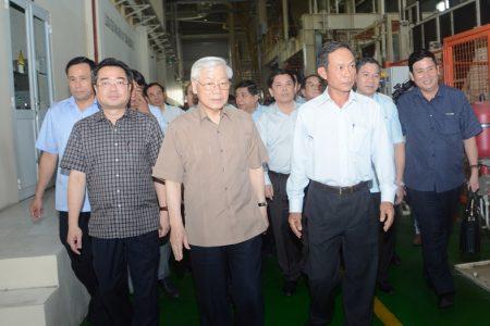 Tổng bí thư, Chủ tịch nước Nguyễn Phú Trọng phải cấp cứu tại bệnh viện Kiên Giang