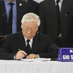 Tổng bí thư, Chủ tịch nước Nguyễn Phú Trọng xuất viện về nhà, tập hồi phục chức năng để làm Trưởng ban tang lễ