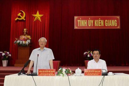 Vietnams Präsident Nguyễn Phú Trọng erleidet Schlaganfall in Kiên Giang