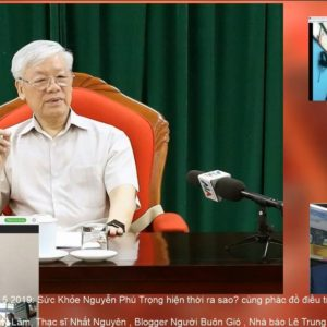 Tổng bí thư, Chủ tịch nước Nguyễn Phú Trọng xuất hiện với đai định thân và đồng hồ hỗ trợ đo nhịp tim