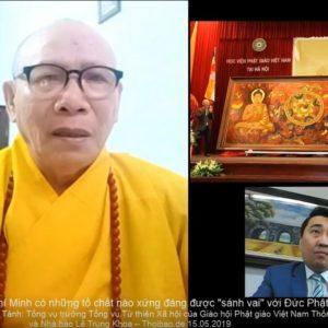 """Cố Chủ tịch Hồ Chí Minh có những tố chất nào, xứng đáng được """"sánh vai"""" với Đức Phật trong bức tranh 'Đạo pháp và dân tộc'?"""