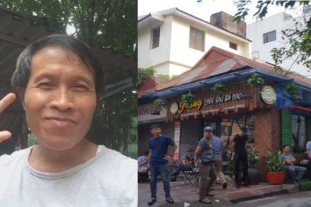 Nguyễn Hữu Vinh (Blogger Anh Ba Sàm) rời nhà tù Trại 5 – Thanh Hoá sau 5 năm tù giam