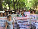 Biểu tình trước Quốc hội Việt Nam hôm 5.6.2019
