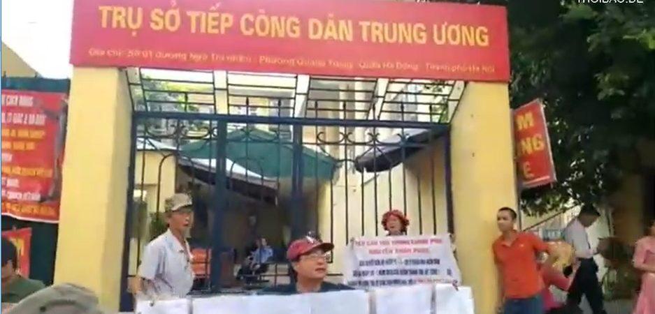 10.6.2019: Biểu tình trước Công viên Lenin và ĐSQ Trung Quốc ở Hà Nội!