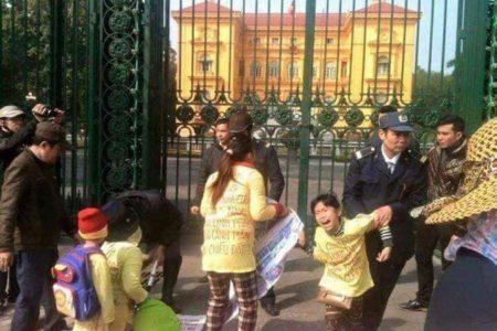 """""""Dân oan"""" – Phát biểu trước trụ sở tiếp dân Trung ương ở Hà Nội hôm nay 05.06.2019"""