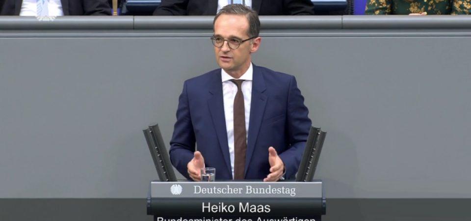 Tuyên bố của Chính phủ Đức về các cuộc biểu tình tại Hongkong chống Dự thảo thay đổi Luật dẫn độ