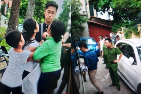Biểu tình, chặn xe Quốc hội Việt Nam hôm 07.06.2019