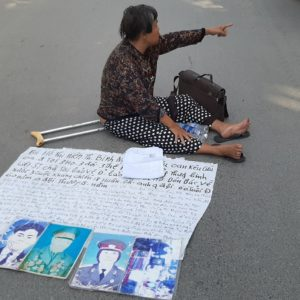 Hundreds of victims of state-sanctioned injustice are left hungry, thirsty and without answers in front of the Government Inspectorate in Hanoi
