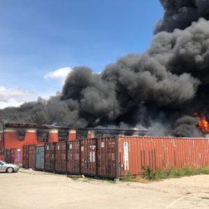 Cháy lớn tại chợ Đồng Xuân Berlin