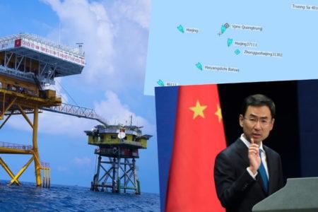 Bãi Tư Chính TQ đuổi VN – Ngoài đảo xa Ba Đình điều chiến hạm