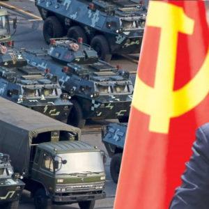 """Xua tàu chiếm đảo VN, đổ quân áp sát Hồng Kông – Tập Cận Bình muốn lên ngôi """"Hoàng Đế đỏ""""?"""