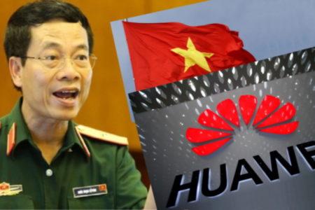 Bỏ TQ, Việt Nam theo Mỹ – Dùng Huawei, Lo gián điệp Tàu
