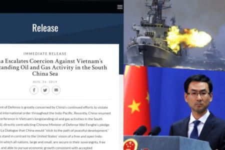 TQ bắt nạt Việt Nam – Mỹ chỉ thẳng mặt bá quyền