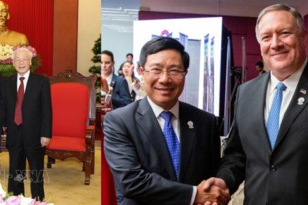 Phạm Bình Minh đi gặp Mỹ – Nguyễn Phú Trọng quyết gặp Lào