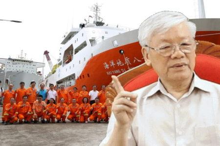 Trung Quốc đe dọa quay lại Bãi Tư Chính – Chủ tịch nước vẫn lặng im!