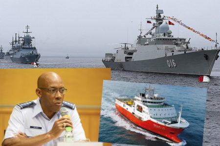Chiến hạm Quang Trung bổ sung vũ khí – Mặt trận chống Tàu liên thủ bao vây!