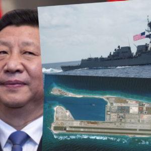 Bắt nạt VN – TQ vỗ ngực, Gặp chiến hạm Mỹ – Bắc Kinh võ mồm
