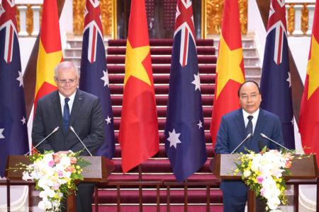 Tuyên bố chung Việt Nam – Australia (Úc) không trực tiếp nêu tên Trung Quốc khi đề cập đến vấn đề Biển Đông
