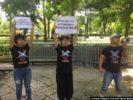 Hà Nội biểu tình vụ Bãi Tư Chính trước tòa Đại Sứ Trung Quốc – Chủ tịch nước vẫn im lặng!
