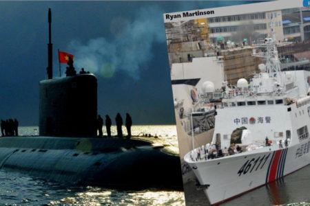 3 hạm pháo TQ tiến vào Tư Chính – Tầu ngầm lớp Kilo VN lặn mất tăm!