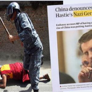 """Thô bạo với VN – Trung Quốc bị Úc gọi là độc tài và hiểm ác như """"phát xít Đức""""!"""