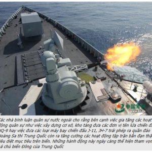 80 Tàu Trung Quốc đã bao vây cảnh sát biển Việt Nam tại Bãi Tư Chính – Nguyễn Phú Trọng tìm nơi ẩn mình?