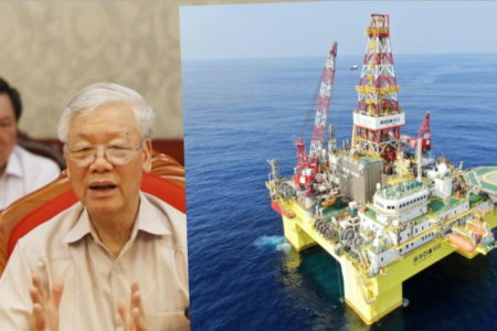 Biển Đông, Trung Quốc đẩy giàn khoan – Dầu khí, Việt Nam bí nước cờ