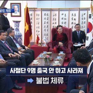 Việt Nam đang đứng trước nguy cơ có thể bị Hàn Quốc đình chỉ việc miễn visa cho hộ chiếu ngoại giao và công vụ