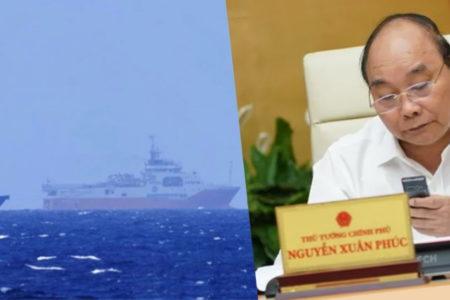 Né Trung Quốc, N Xuân Phúc đành cúi mặt – Vào Việt Nam, T Cận Bình điều tàu lớn