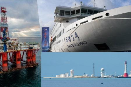 Đóng tàu lớn, Trung Quốc ra đảo –  Dùng thuyền nhỏ, Việt Nam lách luồn