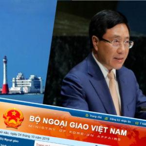 Đối đầu Trung Quốc, Việt Nam đơn độc – Chính sách 3 không, quốc tế hững hờ