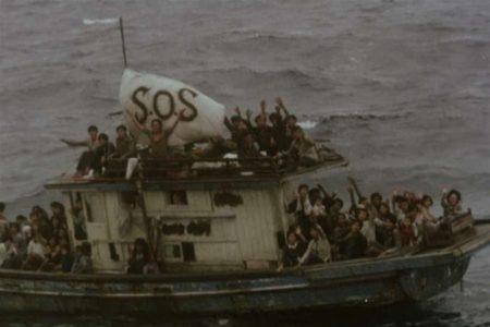 40 năm trước đây Tổng thống Ý cử 3 tàu chiến đến Biển Đông cứu vớt thuyền nhân tị nạn Việt Nam