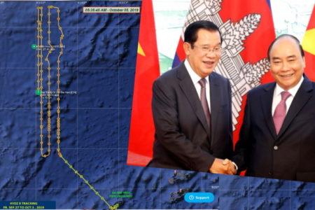 Sang Việt Nam, Hun Sen ăn canh sườn – Đón bạn cũ, Xuân Phúc chiều hết cỡ