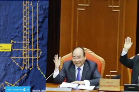 Họp Ba Đình, Trung Quốc điều tàu vây – Bãi Tư Chính, Việt Nam lo khởi kiện