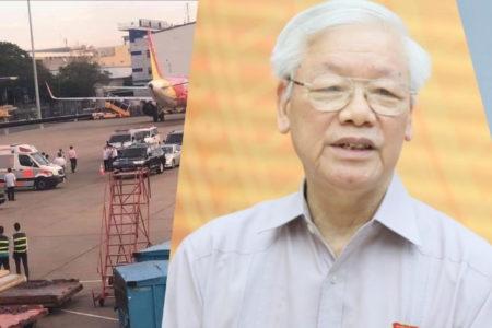 Lo vỡ động mạch, Nguyễn Phú Trọng ngừng đi Mỹ – Bỏ lại Biển Đông, Tổng Bí thư mải đốt lò