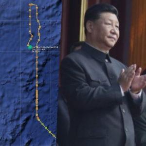 Khoe vũ khí, Bắc Kinh mộng bá quyền – Đưa ảnh Tập, Trung Quốc chỉ vĩ nhân