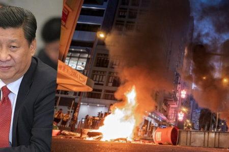 """""""Tan xương nát thịt"""", Tập Cận Bình đe dọa – """"Giải phóng Hồng Kong"""", Người biểu tình quyết chiến"""