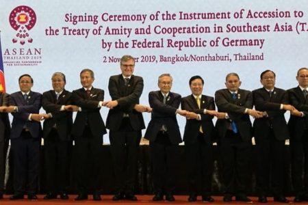 Đức và ASEAN thắt chặt quan hệ: Đức ký gia nhập Hiệp ước Hữu nghị và Hợp tác (TAC)