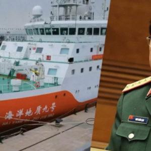 Quyết ép VN – Trung Quốc lại điều tàu áp sát Nha Trang
