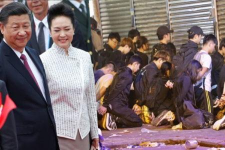 Hồng Kong: Cảnh sát bắt hàng trăm người buộc như xâu cua
