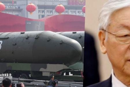 Biên giới Việt – Trung: Phát hiện căn cứ tên lửa hạt nhân tầm trung nhắm thẳng Hà Nội?