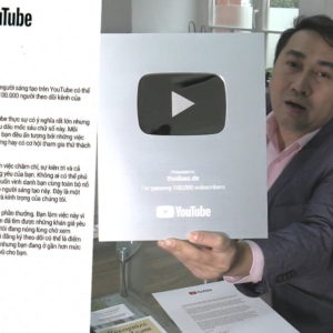 Thoibao.de đón nhận nút Bạc của YouTube