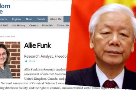 Tự do trên mạng, VN đứng gần bét – Dân chủ trong nước, Hà Nội xếp hạng tồi