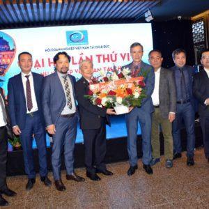 Hội doanh nghiệp Việt Nam tại CHLB Đức tổ chức đại hội