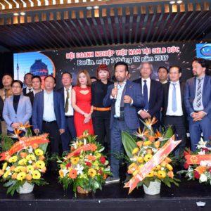 Ông Võ Văn Long được bầu làm Chủ tịch Hội doanh nghiệp Việt Nam tại Đức