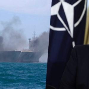 """3 nước độc tài tập trận – nã tên lửa vào """"tàu sân bay Mỹ"""""""