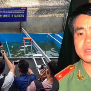 """Vụ sông Tô Lịch: """"Chung con"""" bị dân mạng chỉ trích dữ dội"""