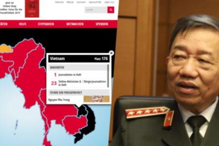 Việt Nam đứng thứ 2 châu Á vì giam giữ 12 nhà báo